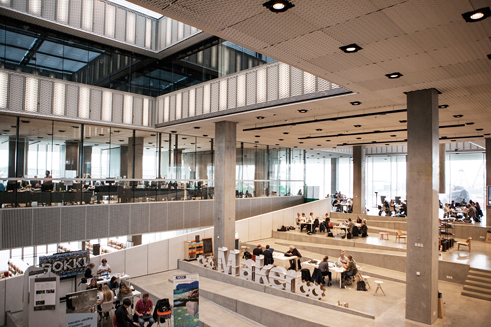 Dokk1 in Aarhus | Schmidt Hammer Lassen Architects | Makerspace