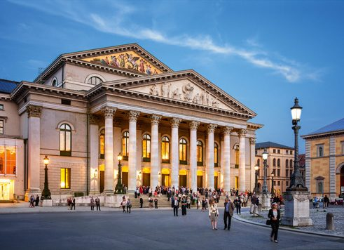 Nationaltheater at Max-Joseph-Platz, Munich