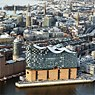 The Elbe Philharmonic Hall and the Hafencity, April 2016