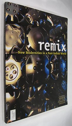 "Book cover for ""Remix: New Modernities in a Post-Indian World"","