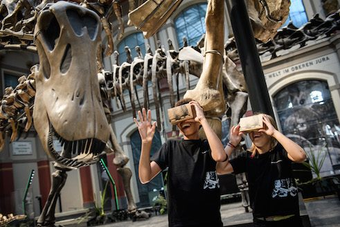 Virtual Reality im Naturkundemuseum Berlin