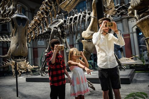 Virtual Reality in Naturkundemuseum Berlin
