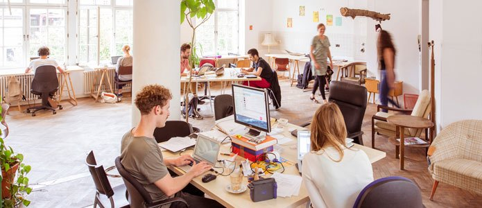 The Co-Working Spaces at Agora in Berlin foster community