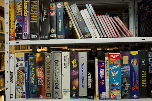 The software collection of the Computer Games Museum in Berlin