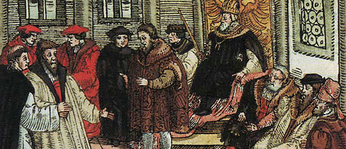 Luther i riksdagen i Worms 1557