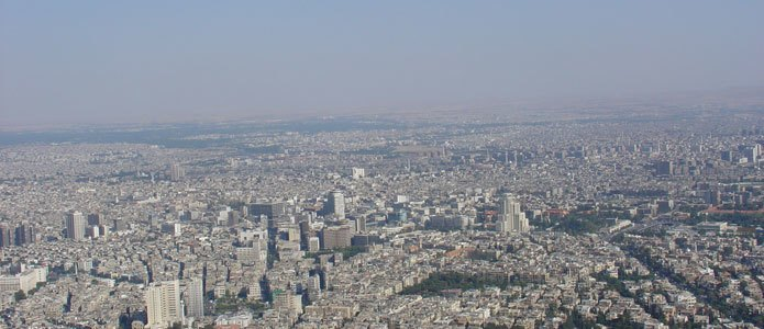 View of Damascus in 2004