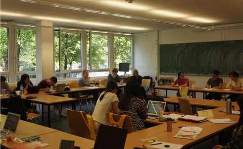 Literature seminar for the students of German studies at the University of Göttingen by Na Yu