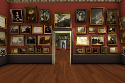 Projekt Zeitreise | Präsentation der Städelschen Sammlung 1833