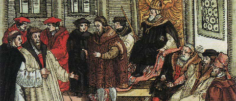 Luther i riksdagen i Worms (1557)