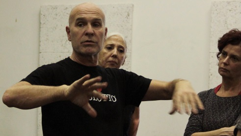 Virgilio Sieni shows the Choreographie, Photo: Ale Cavalli