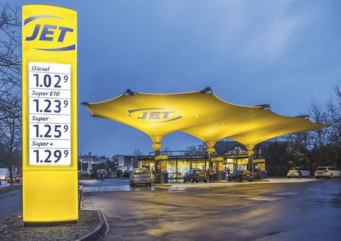 design for human nature | Second prototype of the new filling station concept