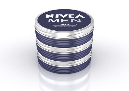 design for human nature | Nivea Men | Creame tin as the implementation of branding