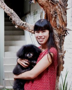 Melissa Tan-Lu, Sew Make Create's founder is passionate about crafting, fashion and sustainability.