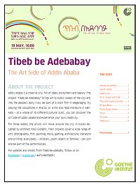 TIBEB BE ADEBABAY – THE ART SIDE OF ADDIS ABABA