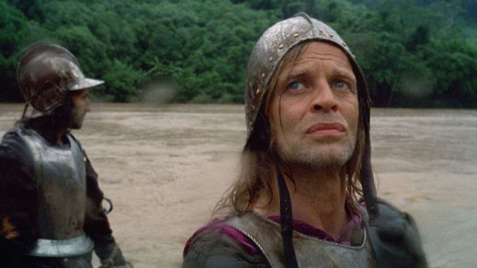Production still from Aguirre, the Wrath of God 1972, director: Werner Herzog.