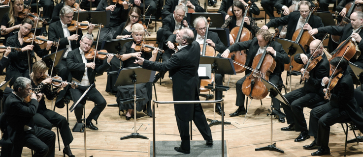 The Munich Philharmonic Orchestra with chief conductor Valery Gergiev
