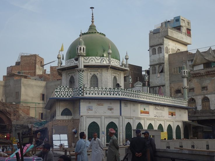 A mosque in Lahore