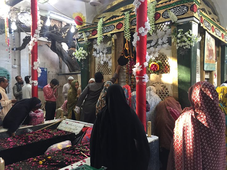 Sufi Shrine from inside