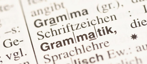 The forms of grammar have meanings, too.