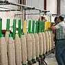 Sardinian spinning company where brigasque wool carpets are produced.