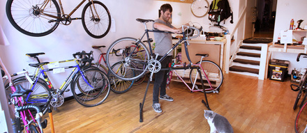 "Jean Guillou: ""This here isn't just a bike shop, it's where I live"""