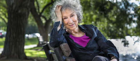 L'auteure canadienne Margaret Atwood