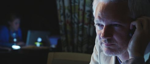 Julian Assange in Laura Poitras' latest documentary
