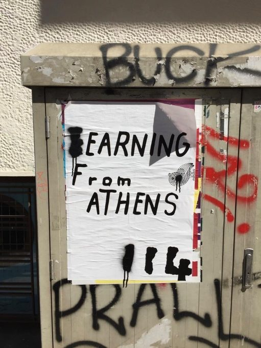 """Earning from Athens"""