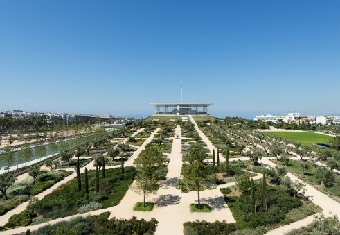 The SNFCC Park is designed to grow a wide range of Mediterranean vegetation
