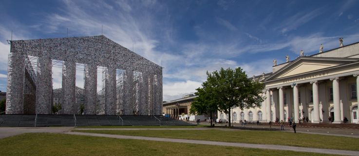 Parthenon of books, Documenta 14