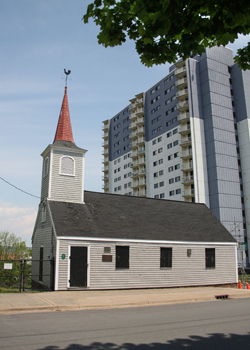 "The ""Little Dutch Church"" in Halifax"