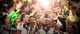 Germany in the soccer world championship