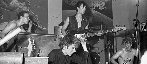 Einstürzende Neubauten at the Berlin Atonal Festival, SO36, West Berlin, 1982