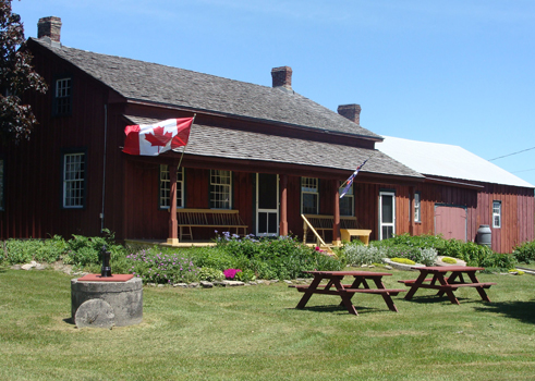 The Rose House Museum in Waupoos