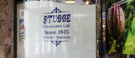 Stubbe Chocolates in Ottawa