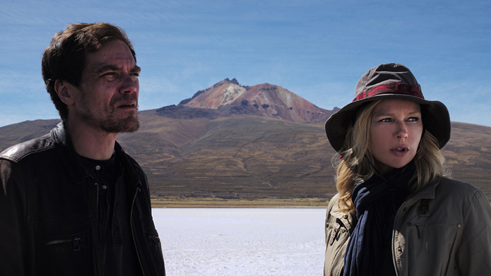 Werner Herzog's film 'Salt and Fire' shows scientist Laura Sommerfeld (Veronica Ferres), who is sent to South America by the United Nations and corporate executive Matt Reilly (Michael Shannon)