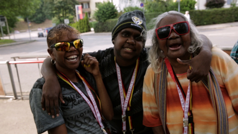 The documentary 'The Song Keepers' features the Central Australian Aboriginal Women's Choir (CAAWC) the only singing group of its kind in the world