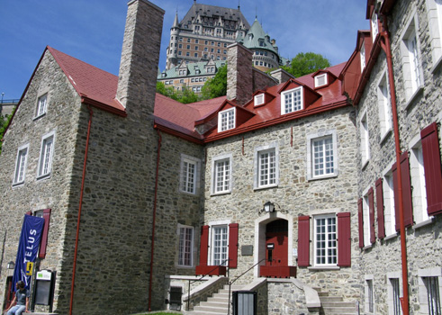 The Chevalier House in Quebec