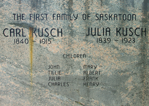 Gravestone of Kusch family