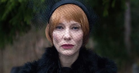 In 'Manifesto' the characters keep coming across 13 distinctive vignettes, with Cate Blanchett inhabiting each and every one convincingly