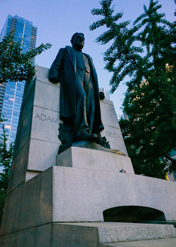 Adam Beck Memorial in Toronto