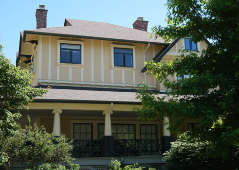"House of the von Alvensleben family in Kerrisdale, now ""Croften House"""