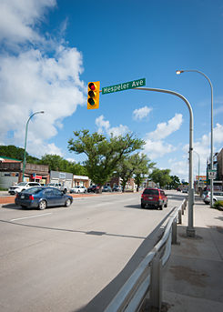 The Hespeler Avenue in Winnipeg