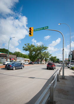 Hespeler Avenue in Winnipeg