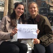 #mywishforeurope - Mia and Ziena
