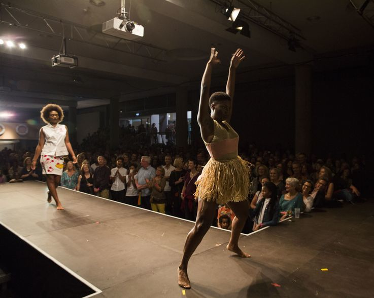 Kinshasa Collection in Berlin: Fashion Show