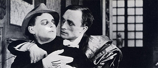 Conrad Veidt & Fritz Schulz in 'Different from the Others'
