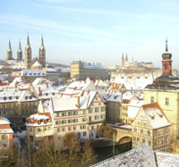 Bamberg im Winter