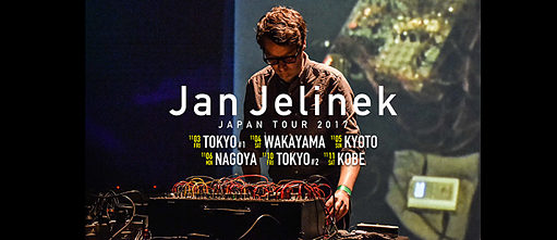 Jan Jelinek Japan-Tournee 2017