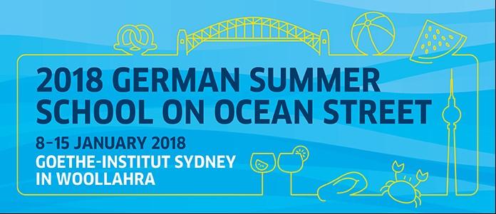German Summer School on Ocean Street 2018